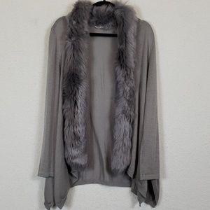 Beautiful soft surroundings cardigan 53% wool